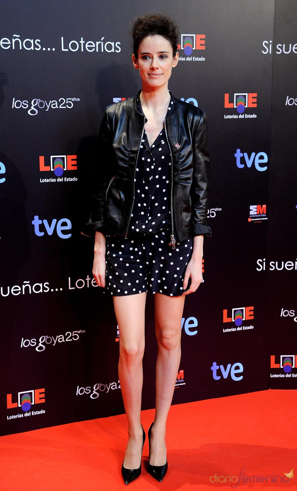 Pilar López de Ayala en la presentación de nominados a los Goya 2011