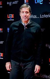 Emilio Aragón en la presentación de nominados a los Goya 2011