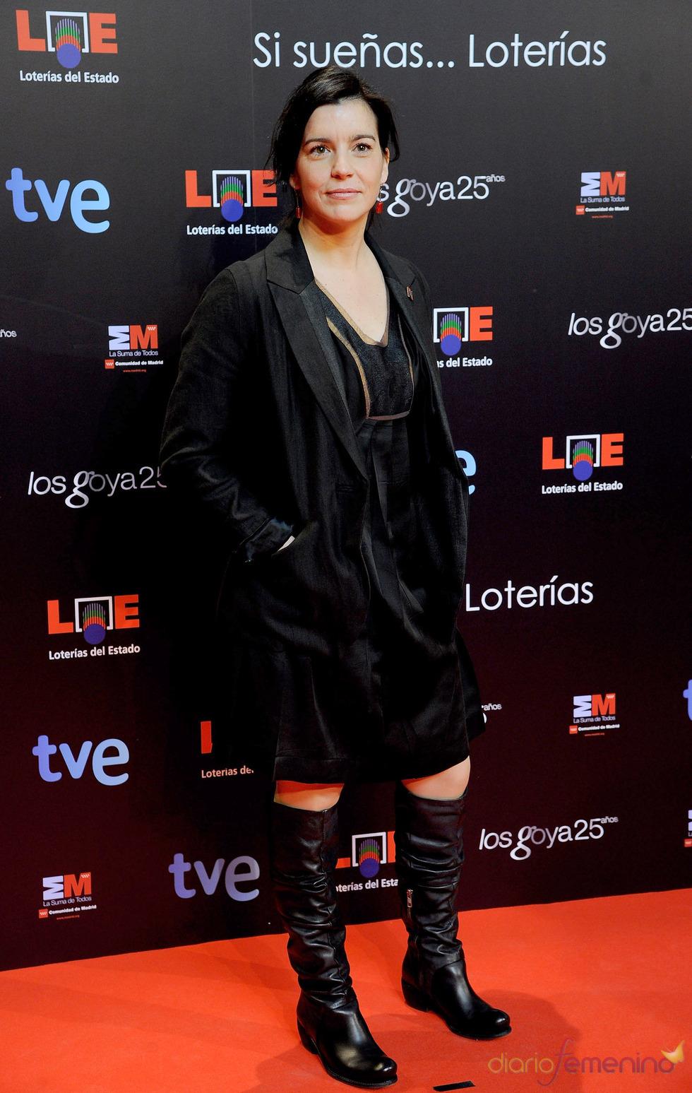 Laia Marull en la presentación de nominados a los Goya 2011