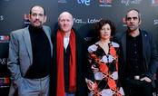 El equipo de 'También la lluvia' en la presentación de nominados a los Goya 2011