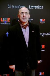 Álex Angulo en la presentación de nominados a los Goya 2011