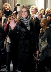La princesa Letizia acude a un espectáculo de danza en Barcelona