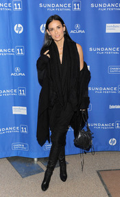 Demi Moore en el Festival de Cine Sundance 2011