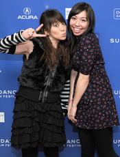Koko Lanham y Miki Ann Maddox en el Festival de Cine Sundance 2011
