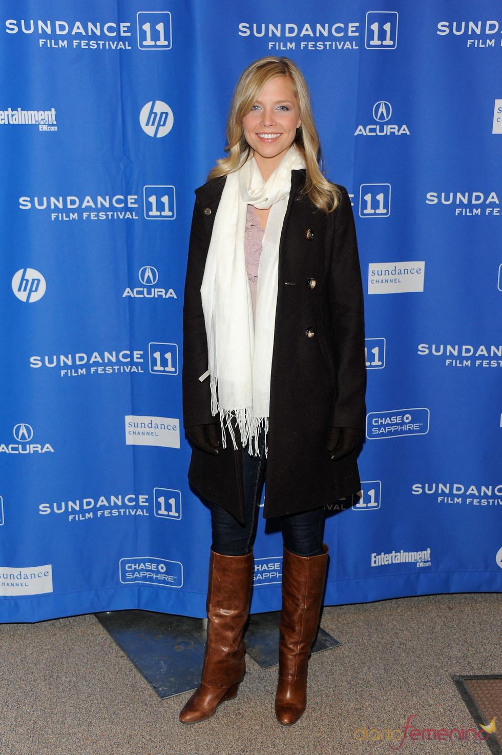 Laura Coover en el Festival de Cine Sundance 2011