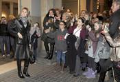 Doña Letizia coincidió con su hermana Telma en un espectáculo en Barcelona