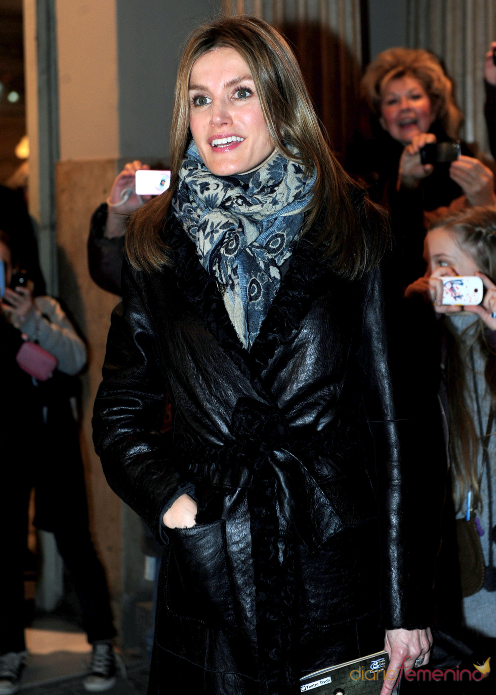 La princesa de Asturias en Barcelona para ver la función de Ángel Corella