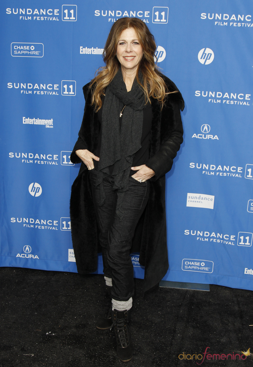 Rita Wilson en el Festival de Cine Sundance 2011
