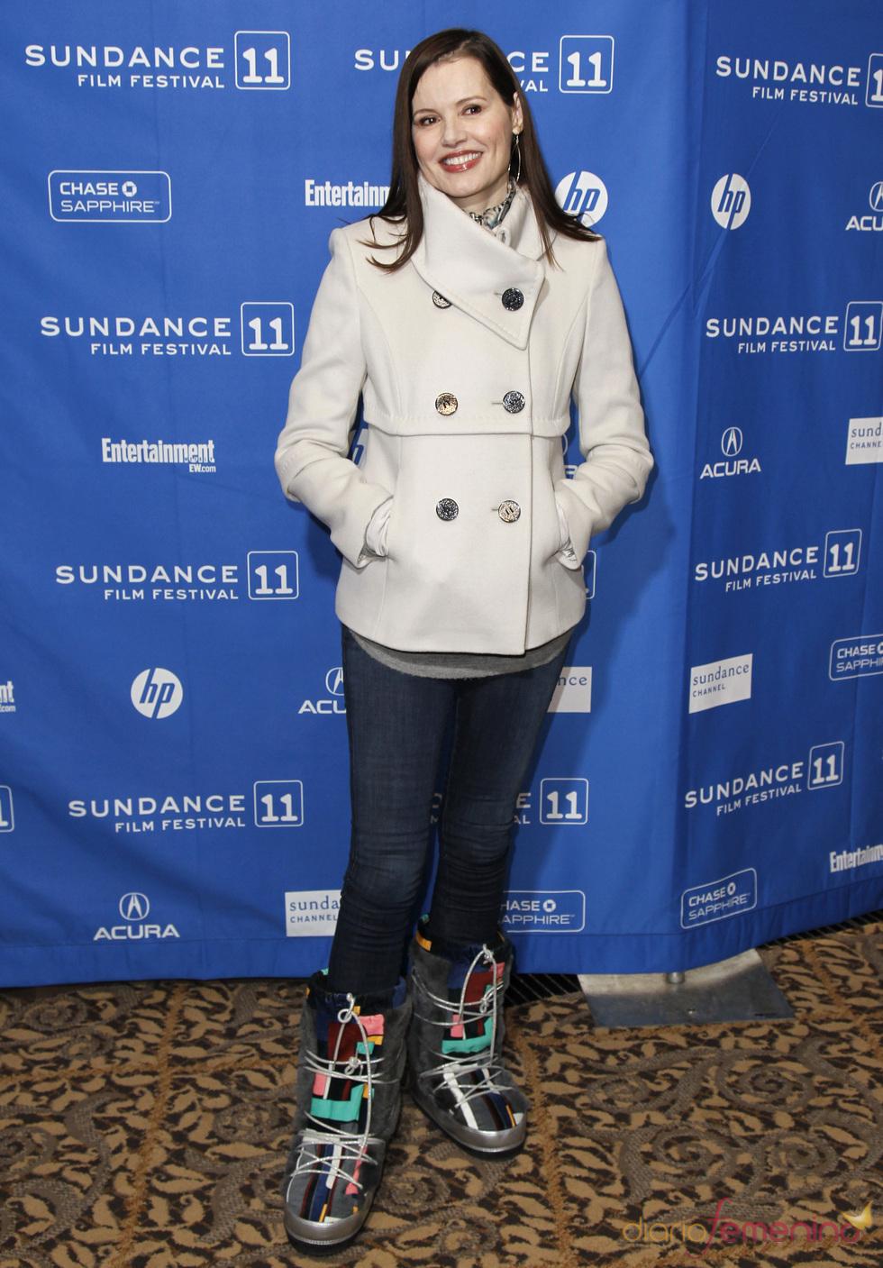 Geena Davis en el Festival de Cine Sundance 2011