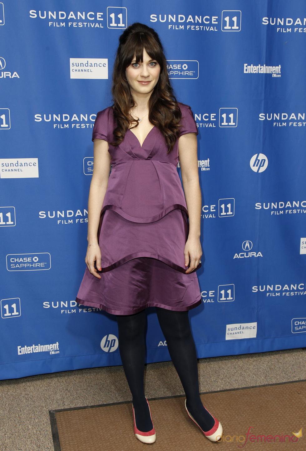 Zooey Deschanel en el Festival de Cine Sundance 2011