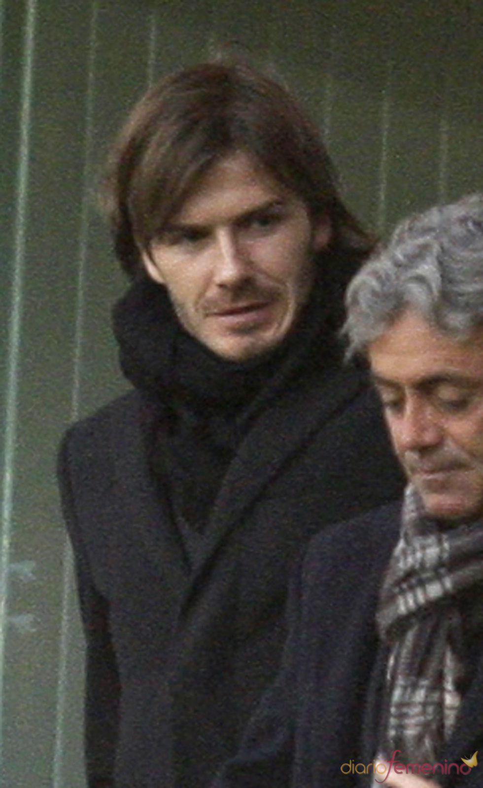 David Beckham vuelve al pelo largo