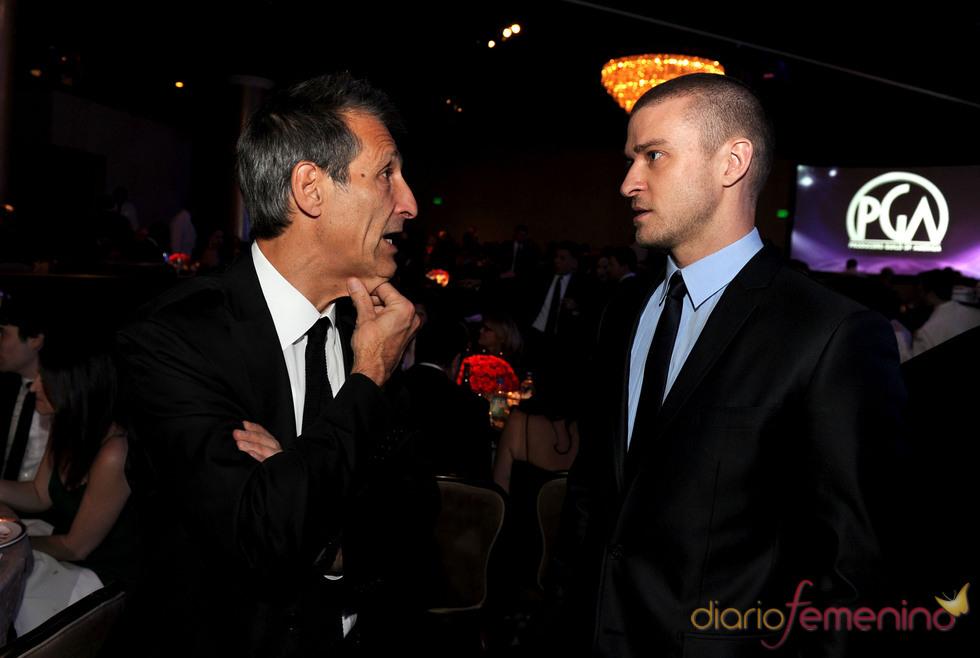 Justin Timberlake en la 22 edición de los Annual Producers Guild Awards