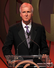 James Cameron en la entrega de los Annual Producers Guild Awards 2011
