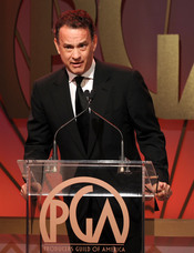 Tom Hanks presentador en los Annual Producers Guild Awards 2011