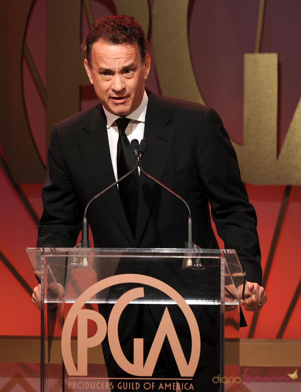 Tom Hanks presentador en los Annual Producers Guild Awards 2011
