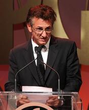 Sean Penn en los Annual Producers Guild Awards 2011