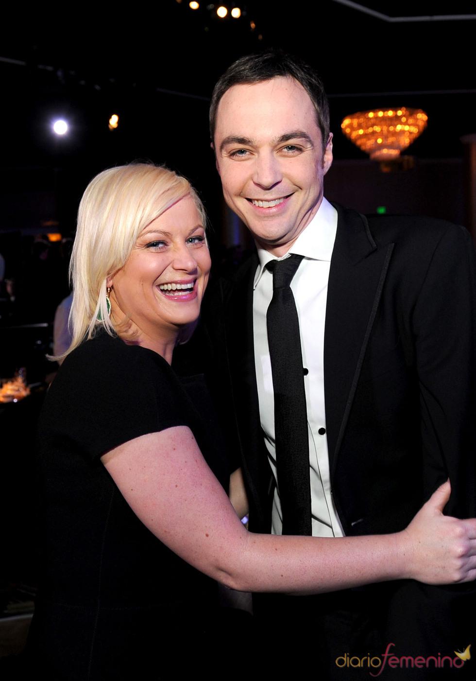 Jim Parsons y Amy Phoeler en los Annual Producers Guild Awards 2011