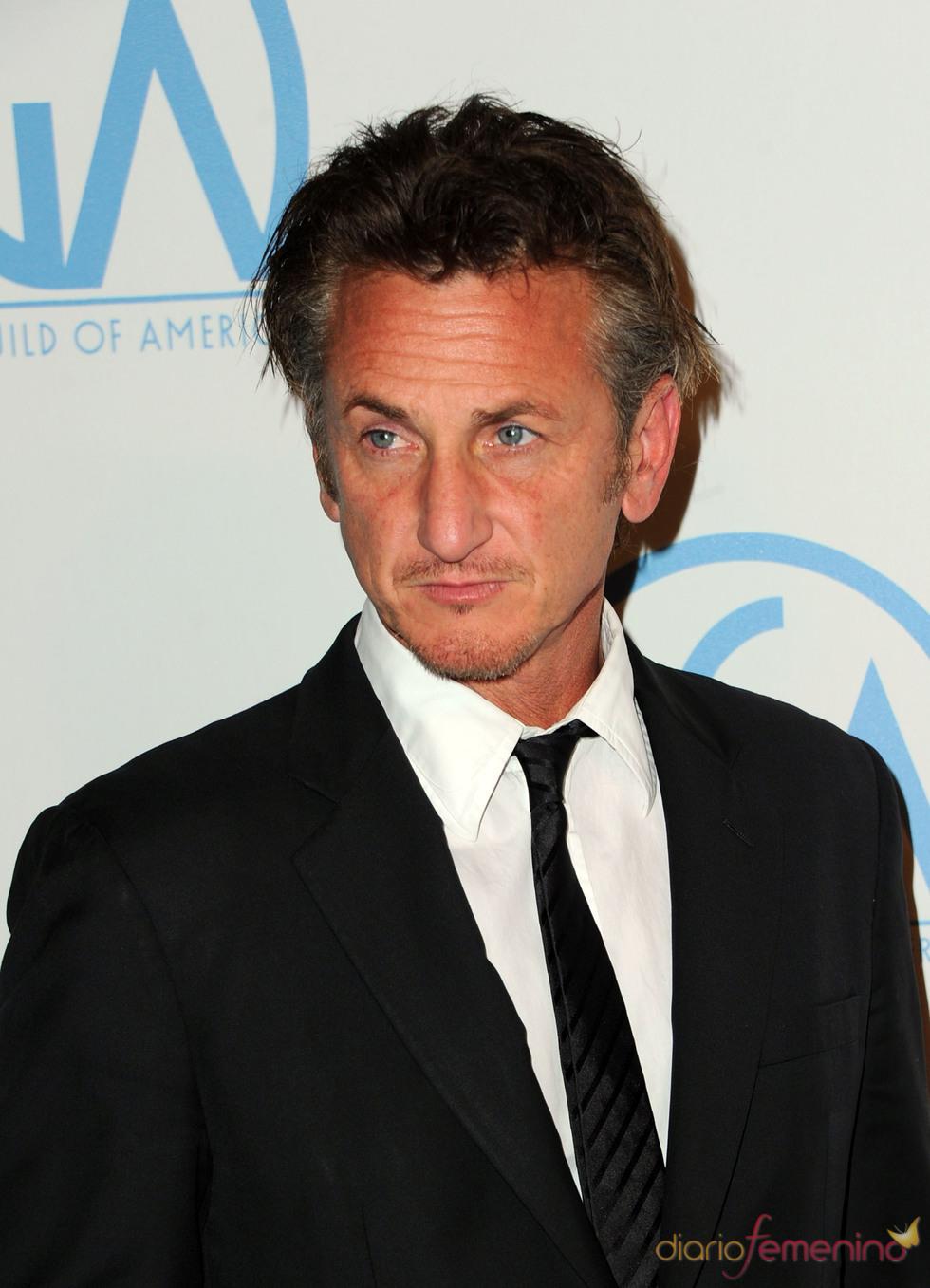 Sean Penn a su llegada a los Annual Producers Guild Awards 2011