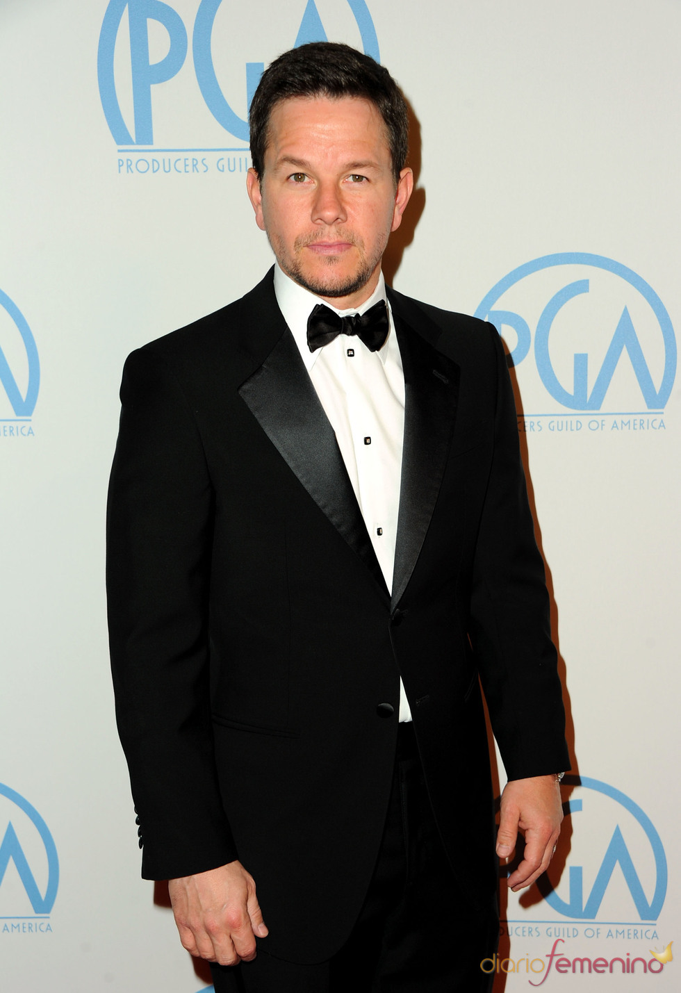 Mark Wahlberg a su llegada a los Annual Producers Guild Awards 2011