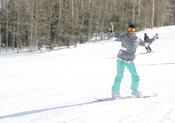 Elsa Pataky disfruta haciendo snow