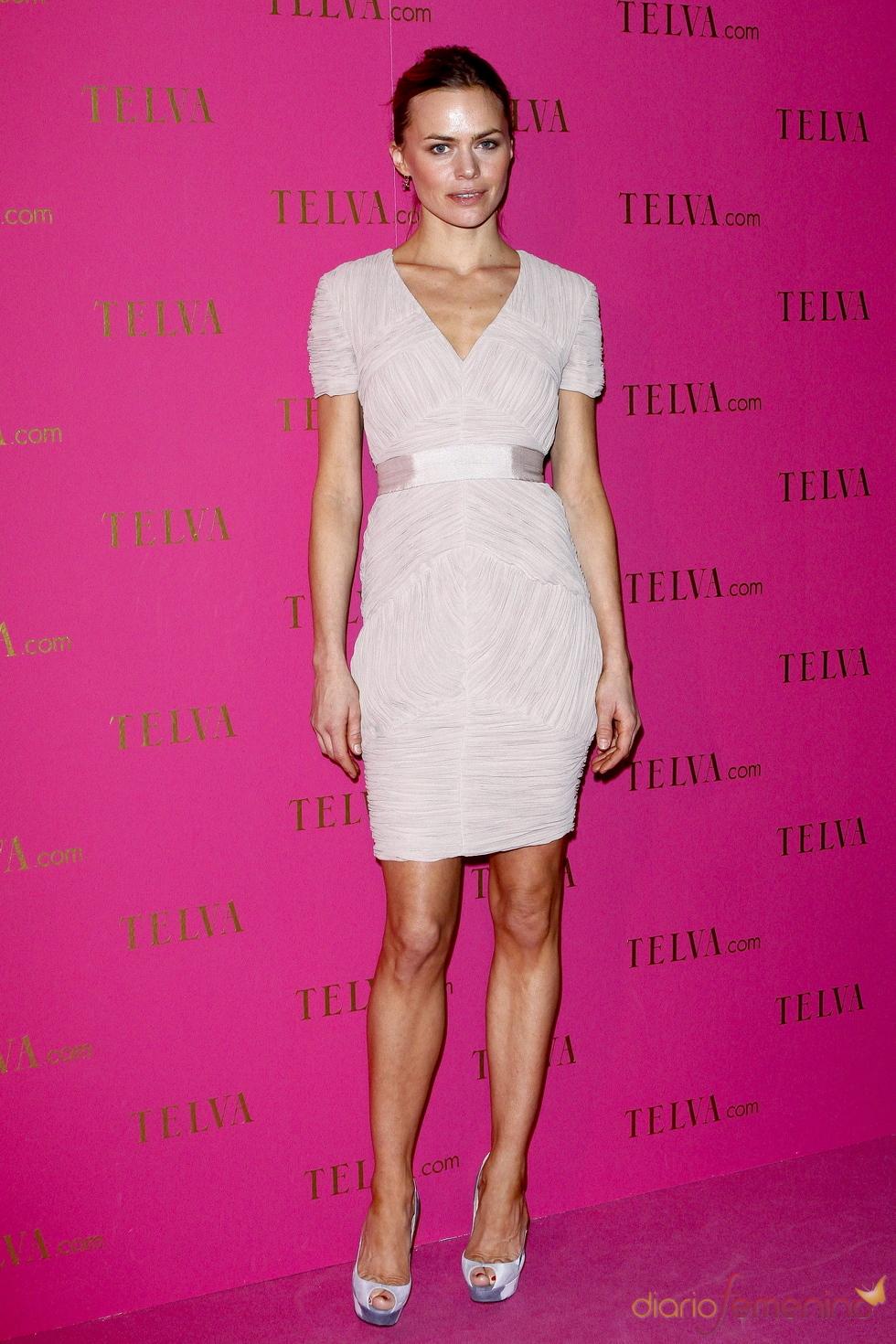 Verónica Blume en los premios Telva Belleza 2011
