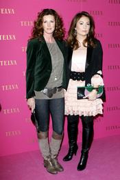 Verónica Mengod y Marian Camino en los premios Telva Belleza 2011