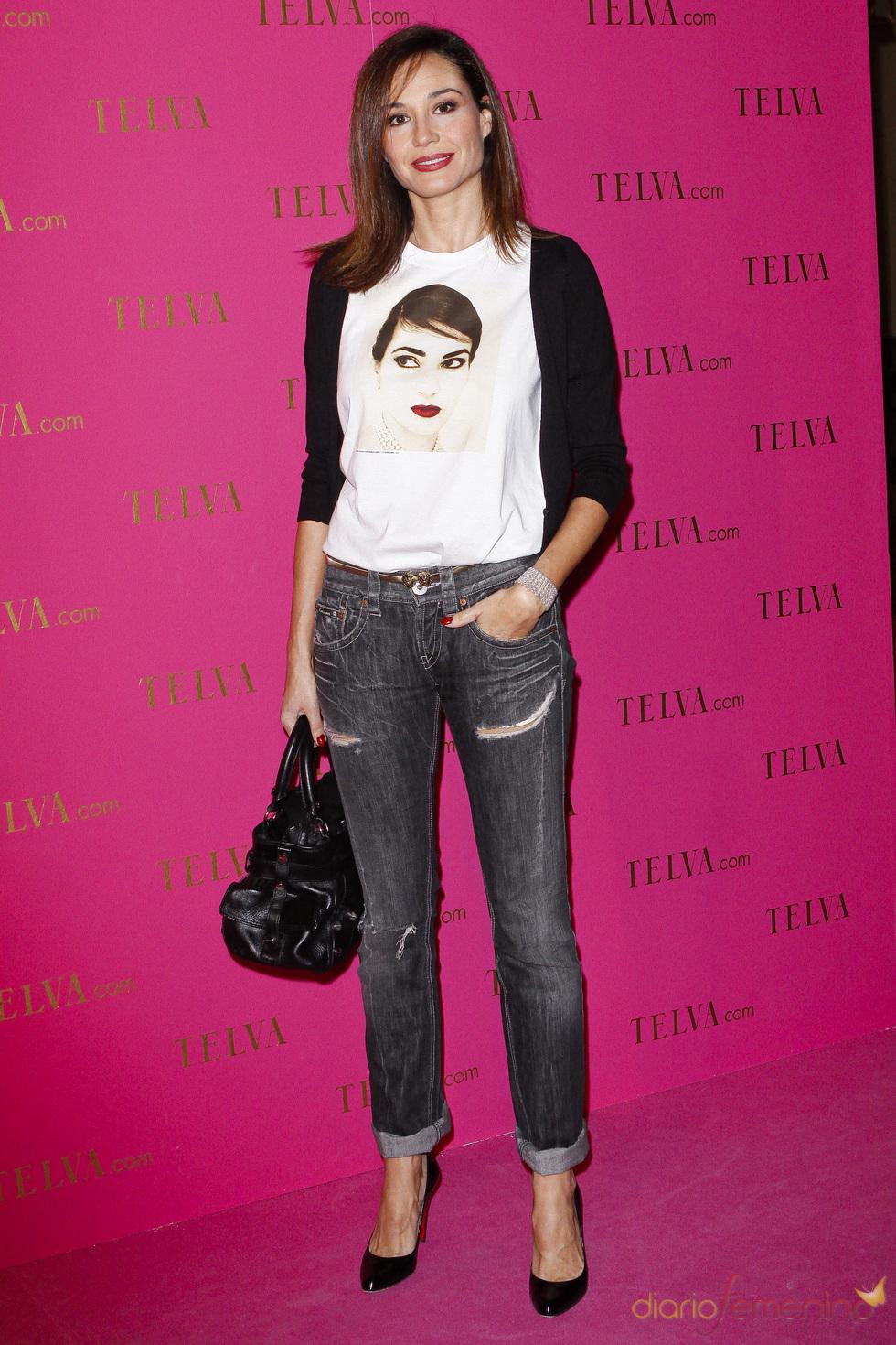 Juncal Rivero en los premios Telva Belleza 2011