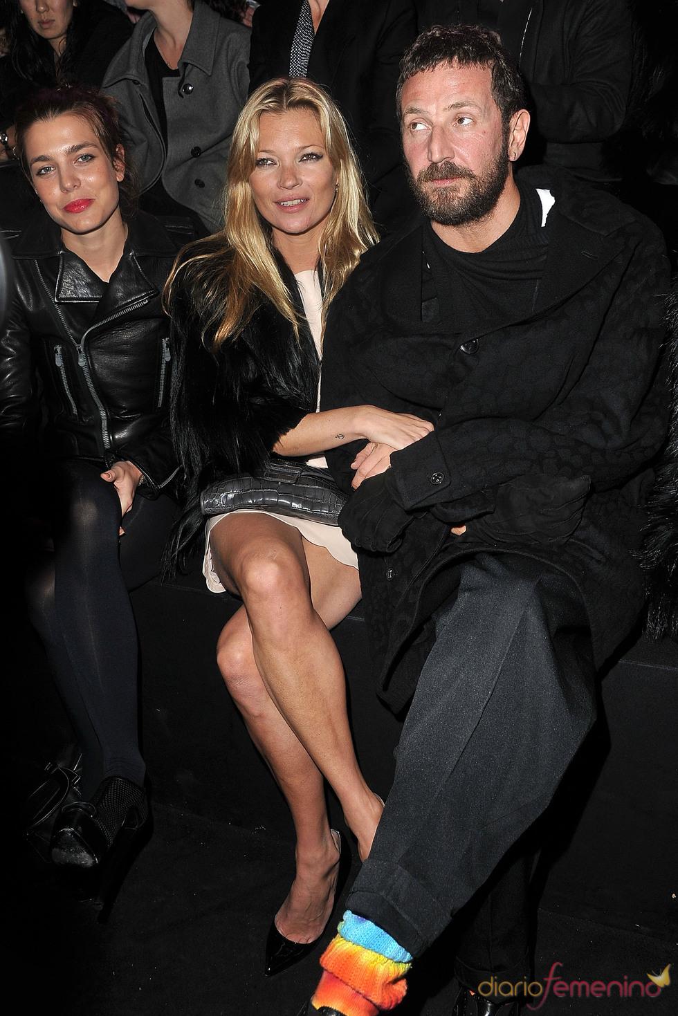 Carlota Casiraghi y Kate Moss juntas en el desfile de Etam