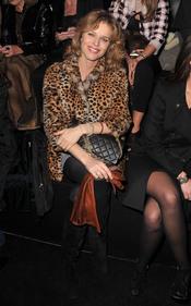 Eva Herzigova en el desfile de Natalia Vodianova para Etam