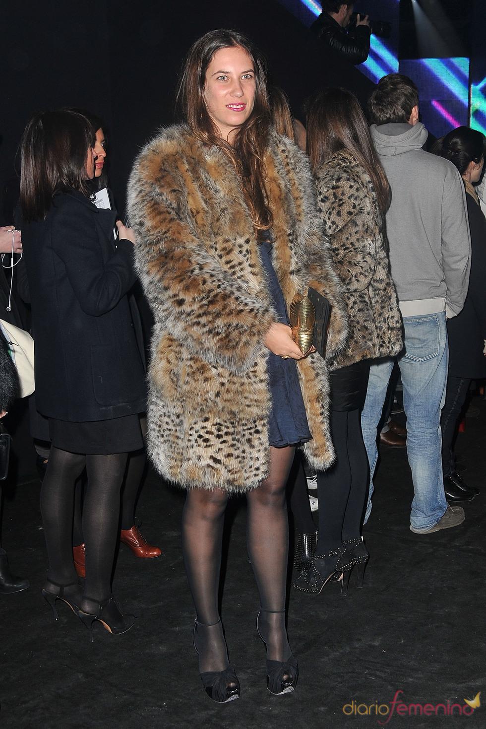 Tatiana Santo Domingo en el desfile de Etam en París