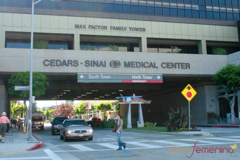 Exterior del hospital donde ha nacido el hijo de Javier Bardem y Penélope Cruz