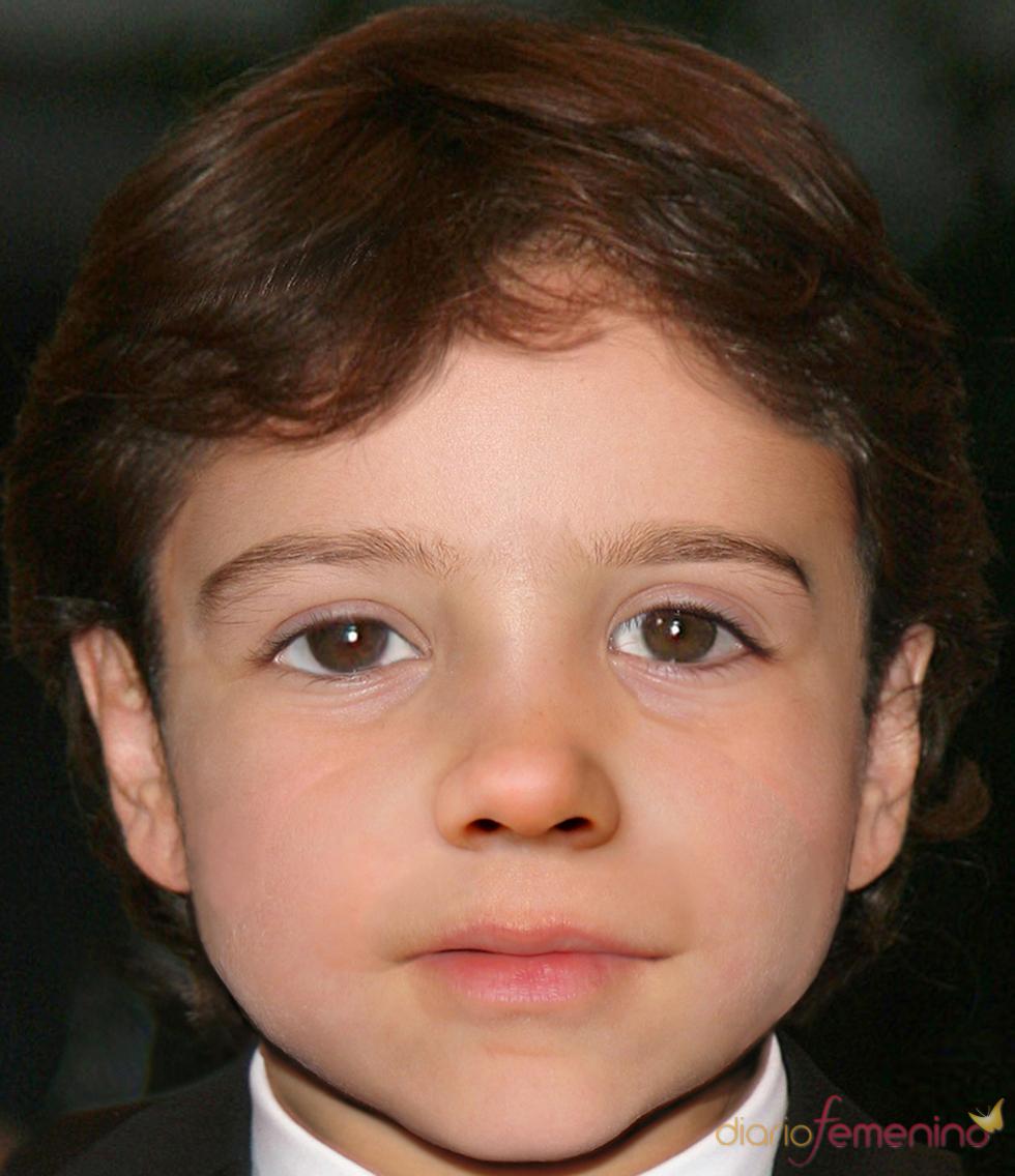 Recreación del hijo de Penélope Cruz y Javier Bardem con 10 años