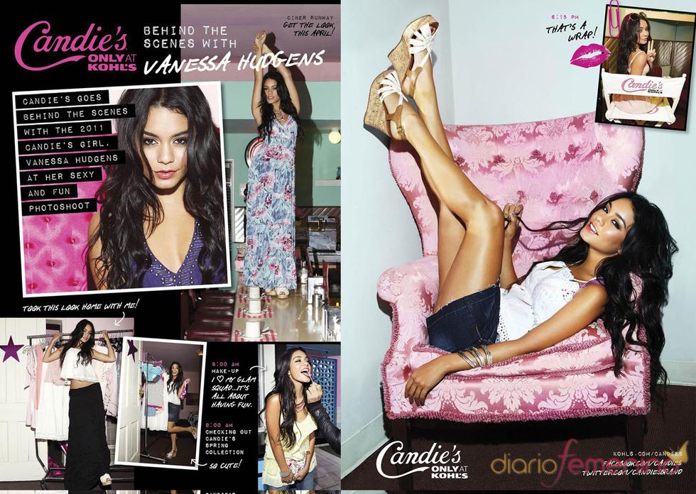 Vanessa Hudgens presenta la colección de Candie's 2011