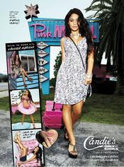 Vanessa Hudgens imagen de la campaña 2011 de Candie's