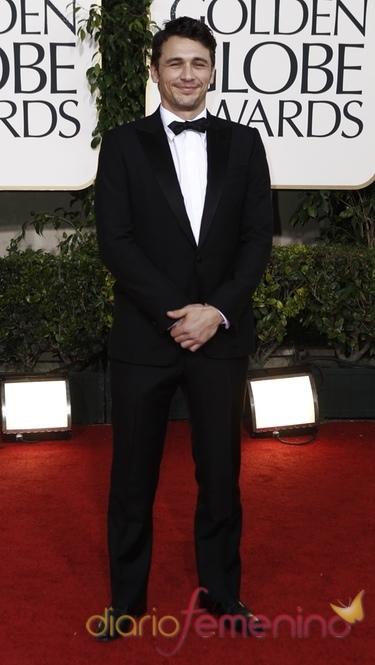 El actor James Franco, nominado a los Oscar y a los Globos de Oro 2011