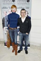 Elisa Matilla y Jorge Pardo acuden al estreno de la obra de teatro 'Fuga'
