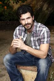 Rodolfo Sancho durante el rodaje de 'Pasión de Gavilanes'