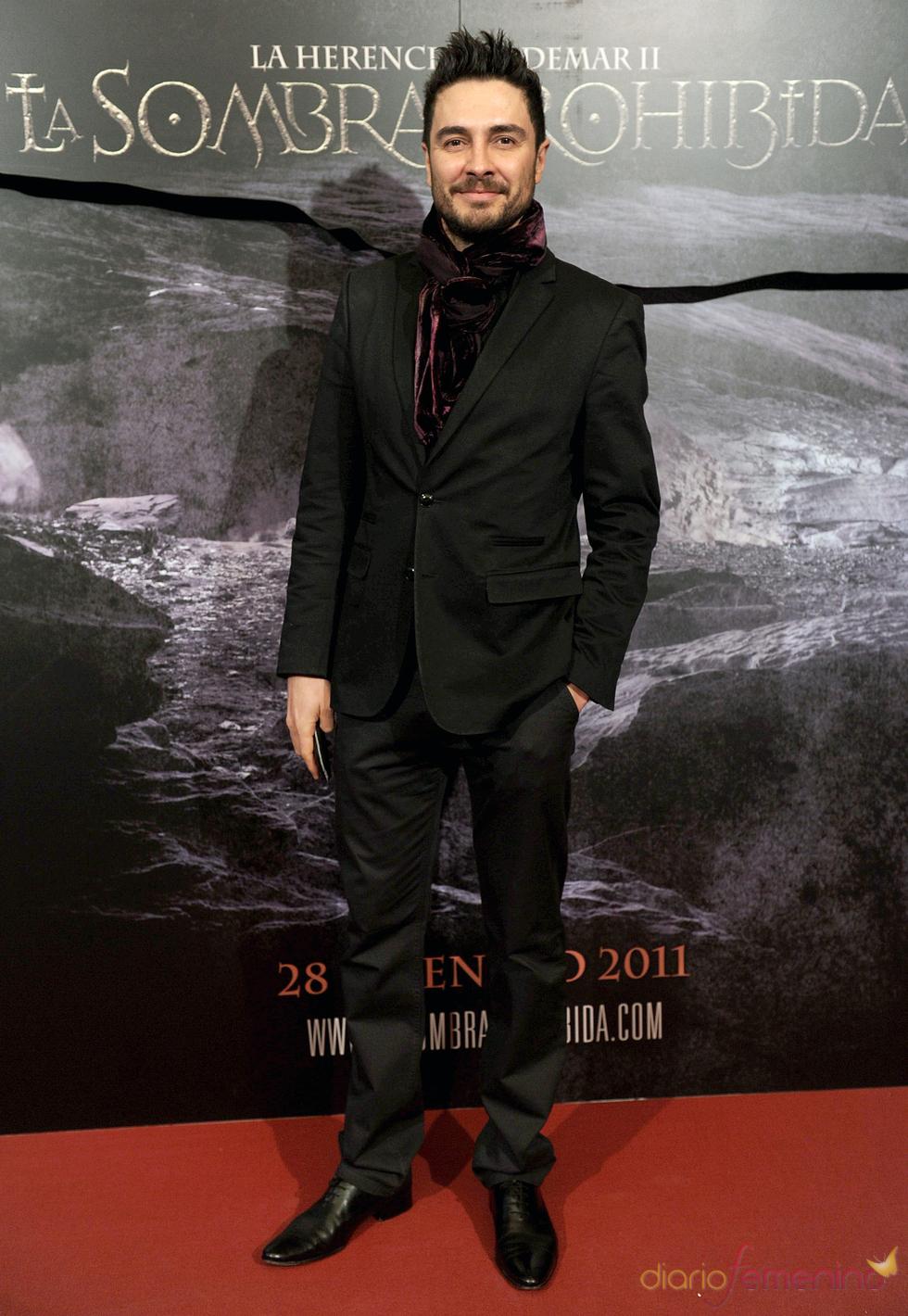 José Manuel Seda en el estreno de 'La sombra prohibida'