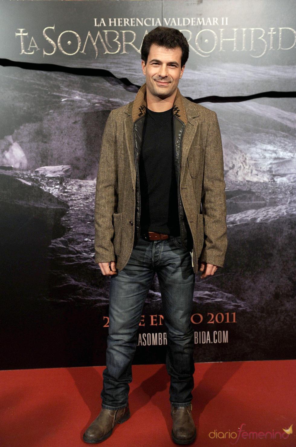Rodolfo Sancho en el estreno de 'La sombra prohibida'