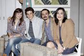 Juan Antonio Lumbreras, María Isasi, Andrea Ros y Nacho Montes en 'Buen agente'