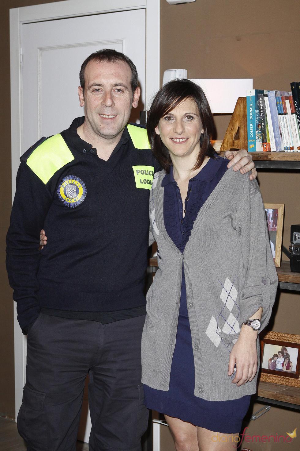 Antonio Molero y Malena Alterio en 'Buen agente'