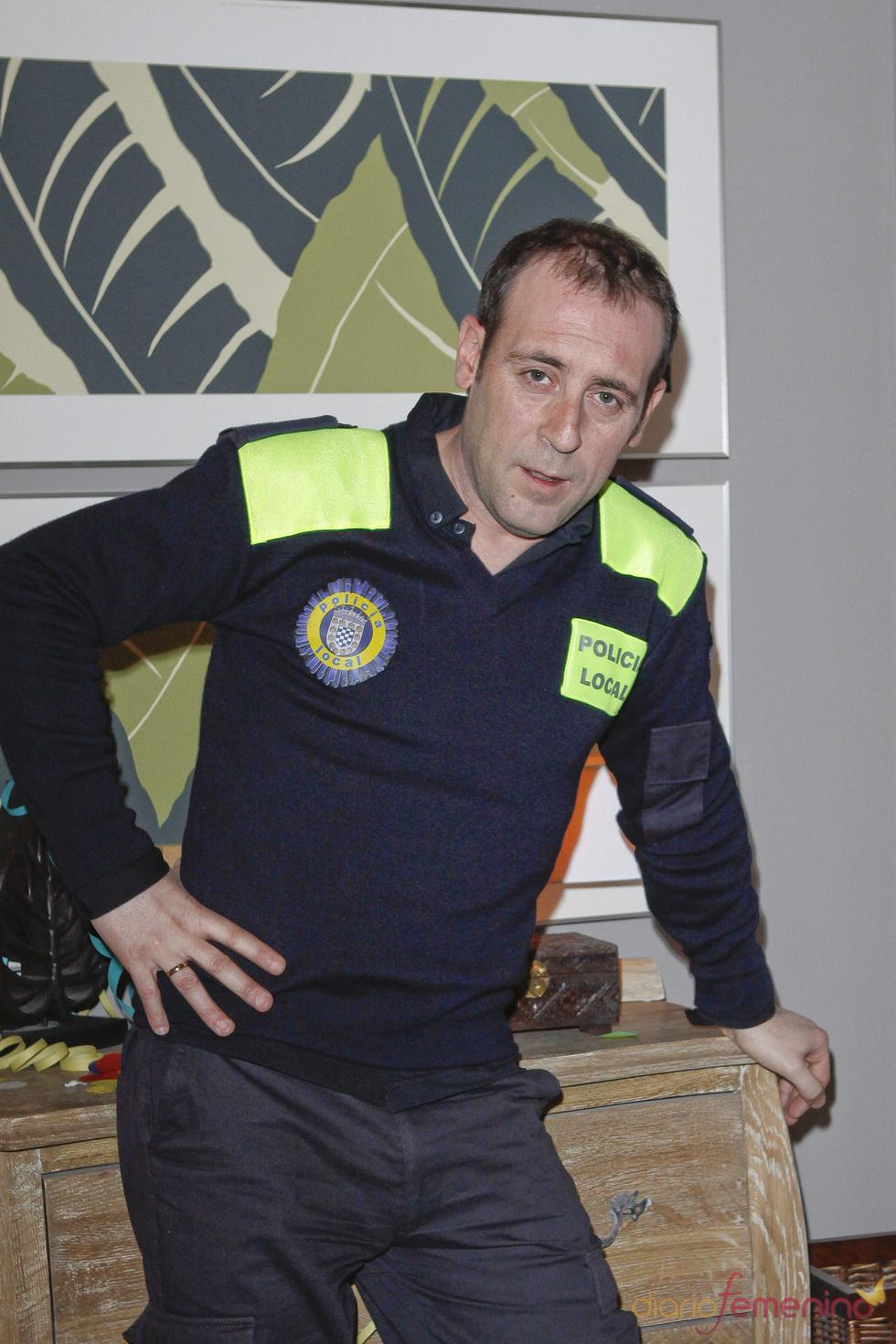 Antonio Molero es Sebas en 'Buen agente'