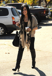 Primera foto de Demi Lovato tras salir de la clínica de rehabilitación