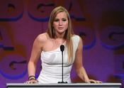 Jennifer Lawrence en los Premios del Sindicato de Directores 2011