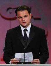 Leonardo DiCaprio en los Premios del Sindicato de Directores 2011