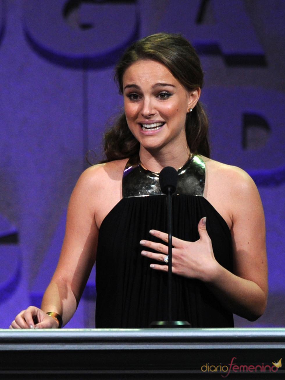 Natalie Portman en los Premios del Sindicato de Directores 2011