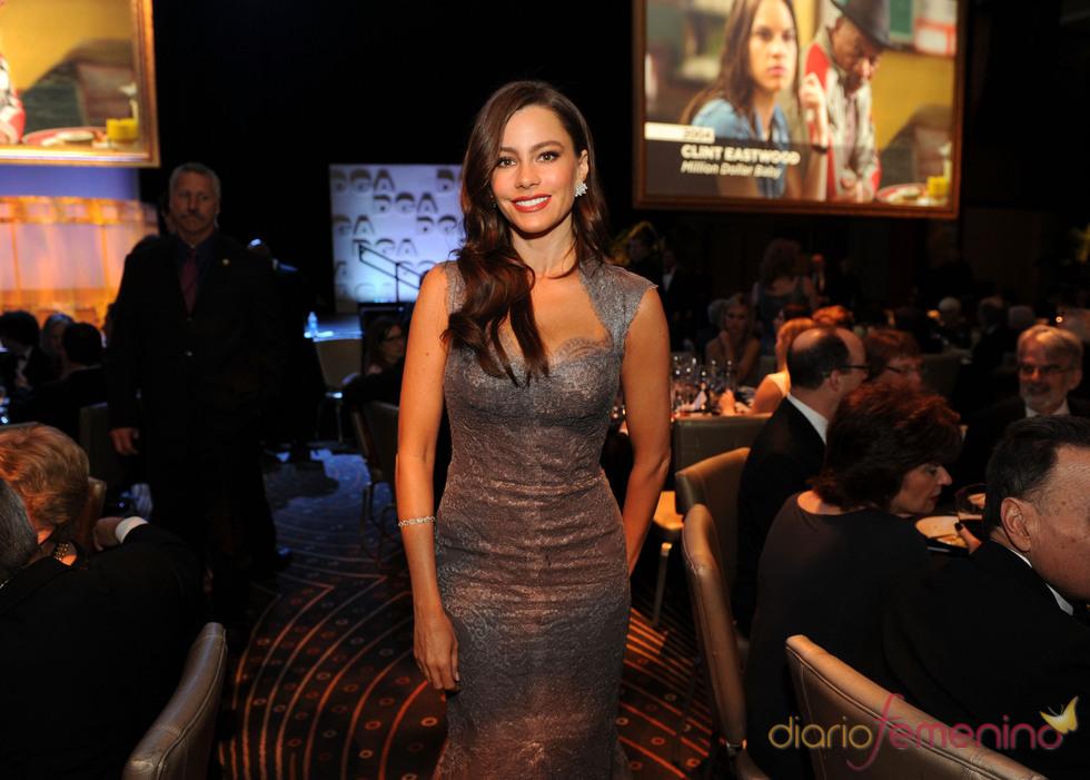 Sofía Vergara radiante en los Premios del Sindicato de Directores 2011