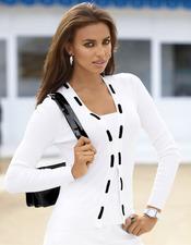 Irina Shayk viste de blanco la próxima primavera