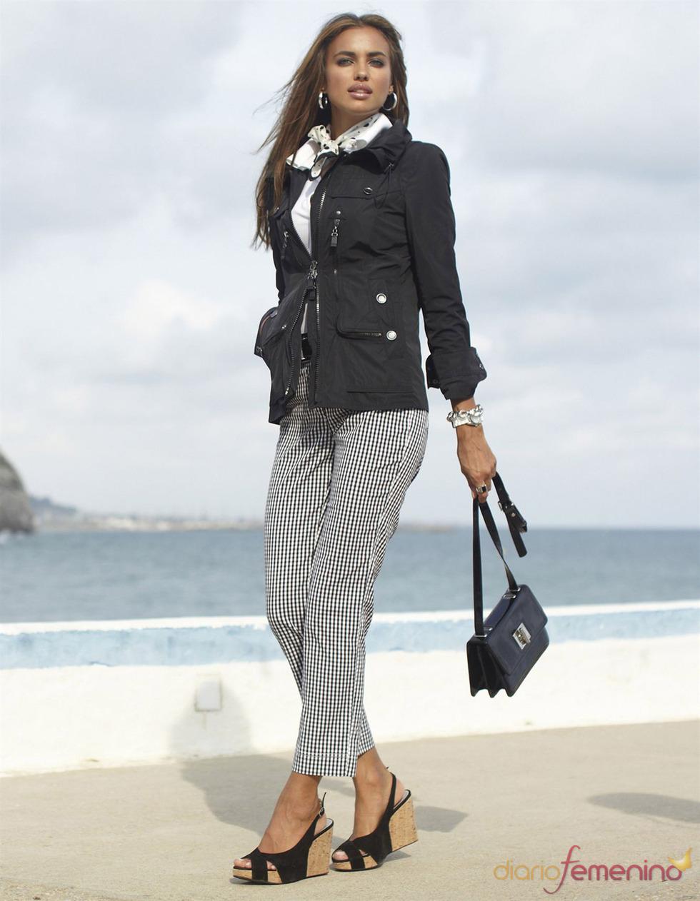 Irina Shayk luce sus encantos con ropa primaveral