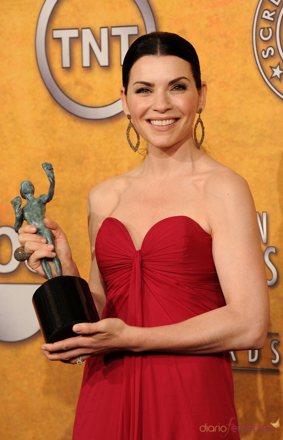 Julianna Margulies, premio a Mejor actriz de TV del Sindicato de Actores de EEUU por 'The good wife'